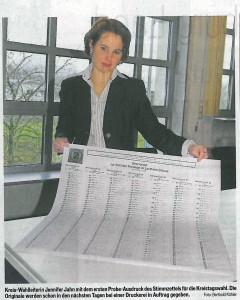 ULB Stimmzettel